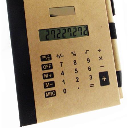 Kit Caneta com Calculadora 123
